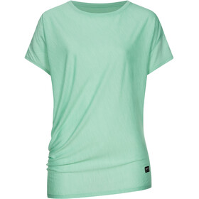 super.natural Yoga Loose Tee Women misty green melange